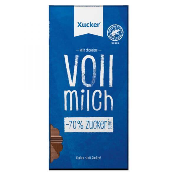 Xylit-Schokolade Vollmilch (38 % Kakaoanteil)