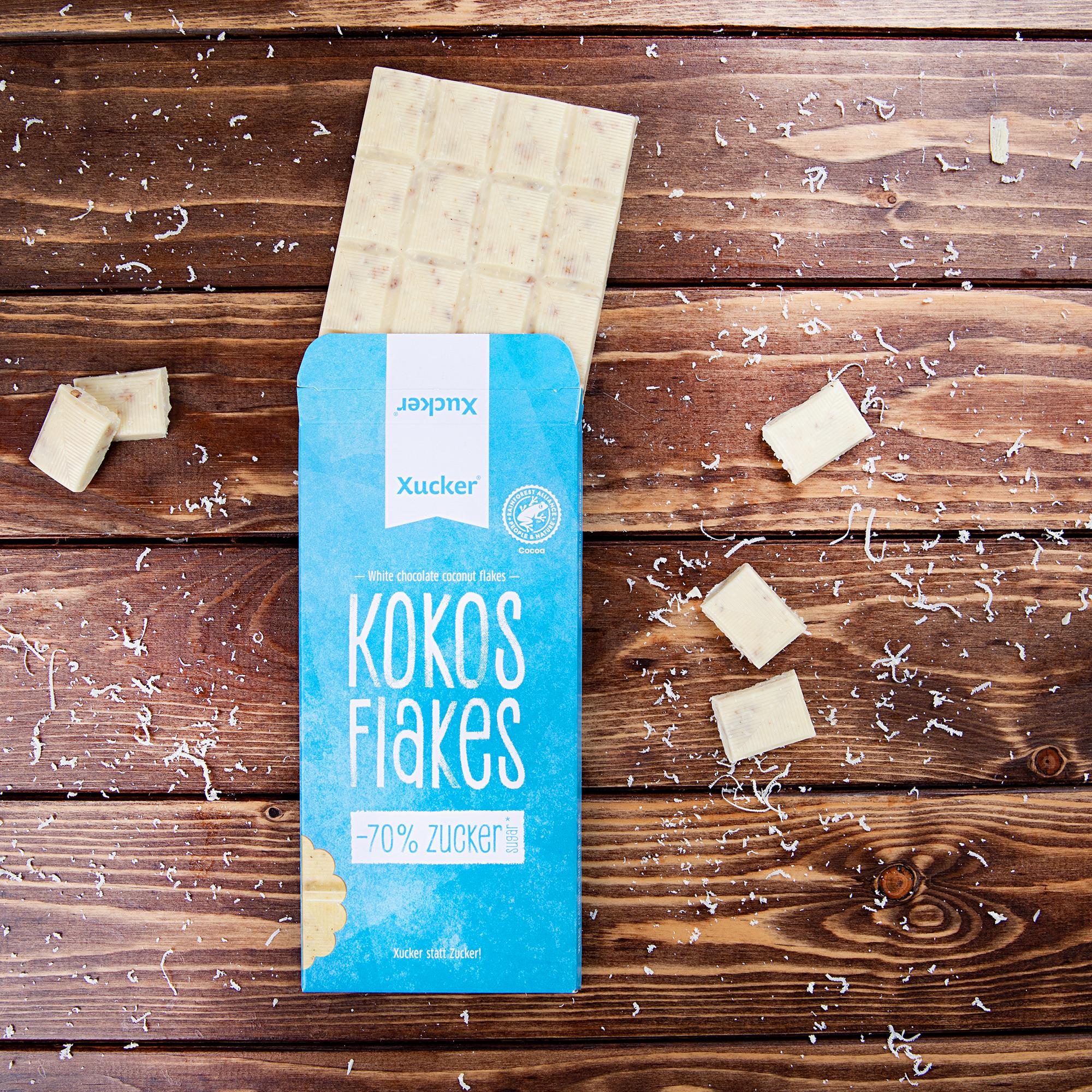 Schokolade Kokos Flakes