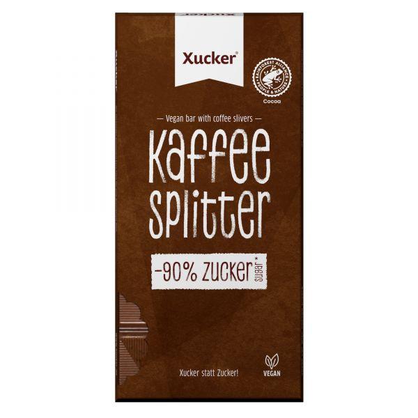 Vegane Xylit-Schokolade Kaffeesplitter