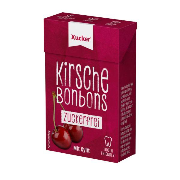 Xylit-Bonbons Kirsche Klickschachtel (ohne Talkum)