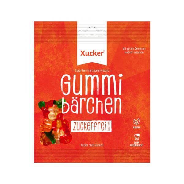 Vegane Gummibärchen (Fruchtgummi ohne Zucker)