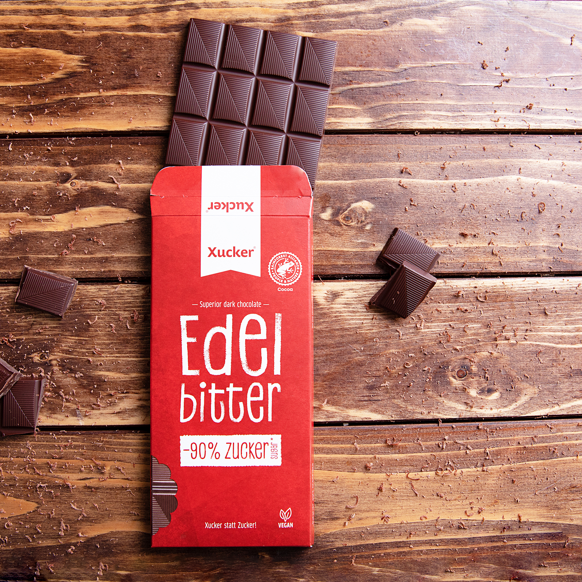 Xucker Edelbitter Schokolade