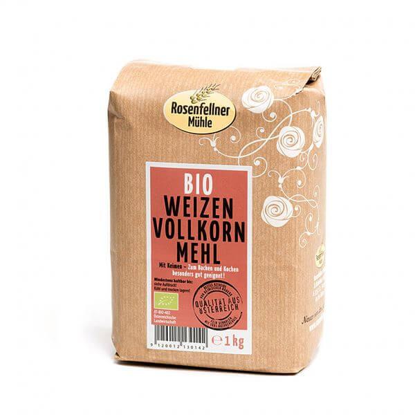 Bio Weizen-Vollkornmehl