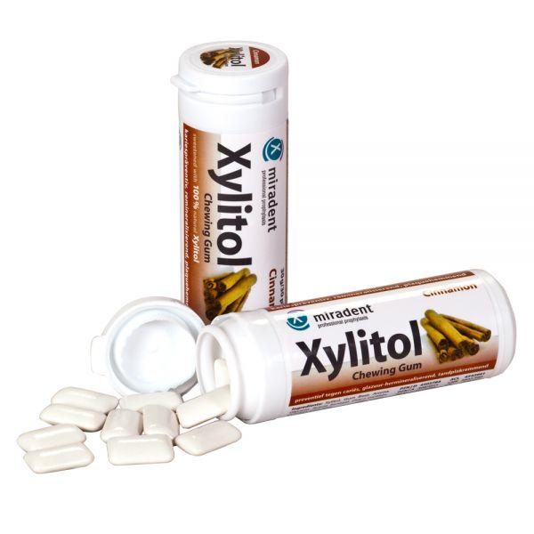 miradent Xylit-Kaugummi Zimt