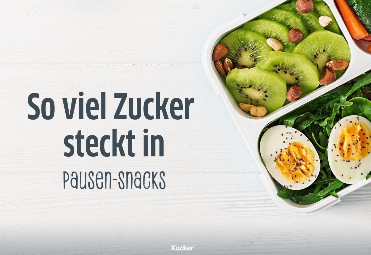 Zucker-in-Pausen-Snacks