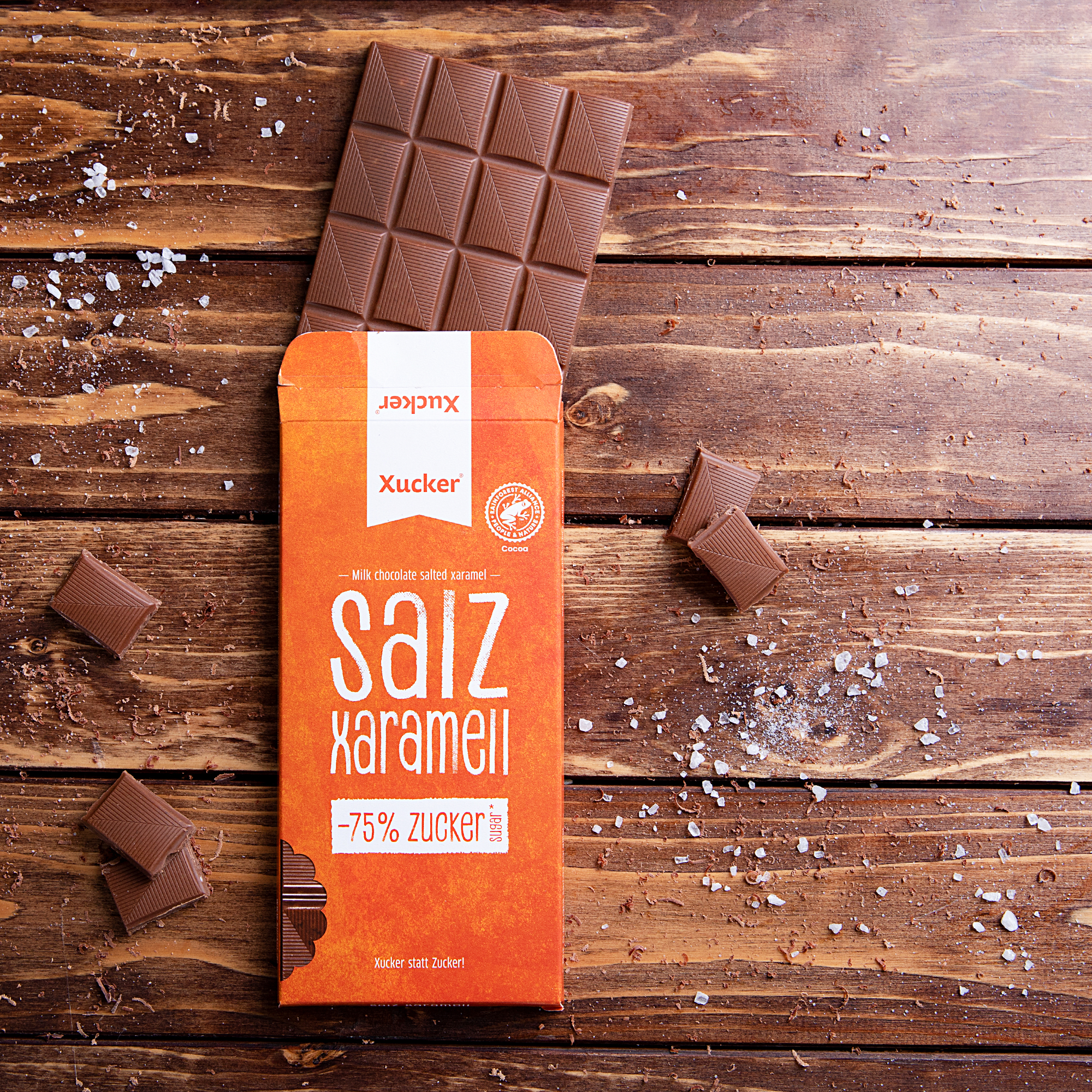 Xucker Schokolade Salz Xaramell