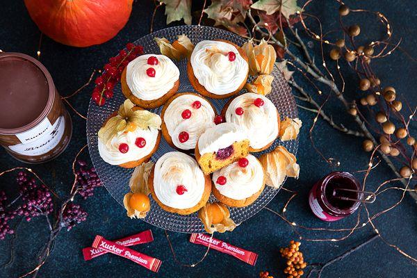 Kurbis-Cupcakes