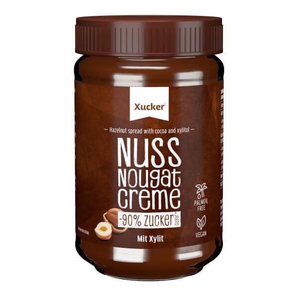 Zuckerarme Nuss-Nougat Creme ohne Palmöl (Xylit)