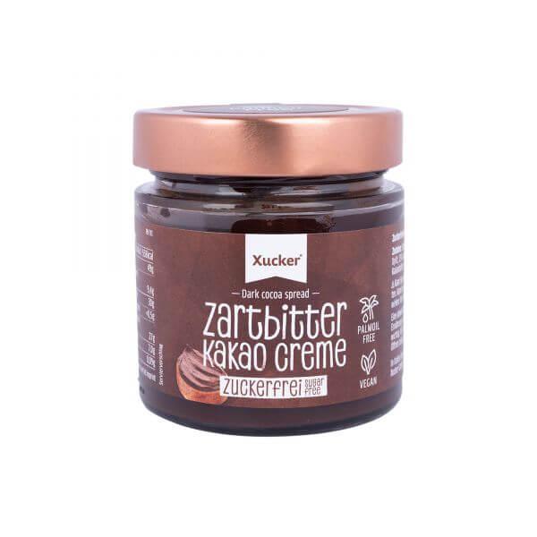 Zuckerfreie Zartbitter Kakao Creme (Xylit)